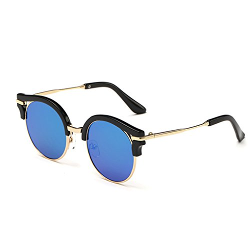 Junecat Kinder runde Hohle Sonnenbrille Mädchen Jungen Unisex Harz-Objektiv-Brillen Kinder UV403 Brillen Sonnenbrillen