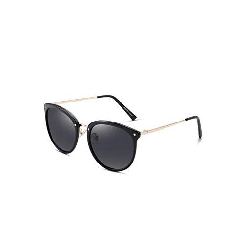 RJYJ Sonnenbrille Für Frauen Polarized , Round Ladies Polarized Sonnenbrille, TR Material TAC Linse 100% Anti-UVA Ultra Light 30 G