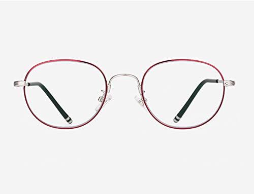 QKDSA Anti-Blaue Lesebrille, ultraleichte Damenbrillen für Damen, hochauflösende Elegante alte...