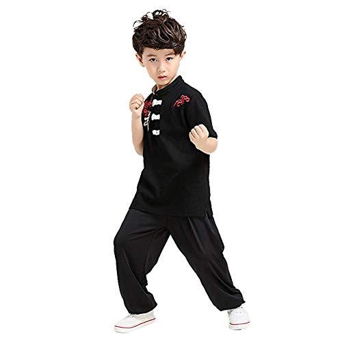 Goyajun Chinesisch Kung Fu Tai Chi Uniform Kostüm Kampfkunst Performance Wettbewerb Kleidung