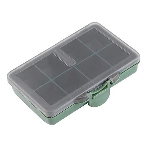HATCHMATIC 8/6/4 Grid Angeltaue Container Fischaufbewahrungsbehälter Hüllen Organizer oon Lure Box Pesca Werkzeuge Gerät: 8 Fall