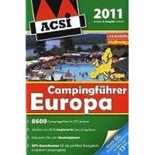 ACSI Campingführer Europa 2011: mit DVD
