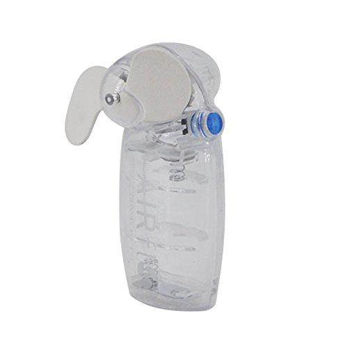 RZJF Nettes Mini Tragbares Taschenfrischluft-Handfächerweiß -