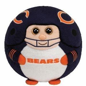 Ty Beanie Ballz 13 Chicago Bears Plush