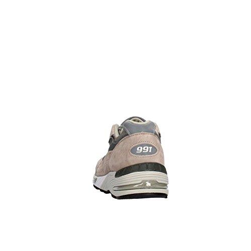 Sneaker New Balance 991 Limited Edition blu e pelle grigia Grigio
