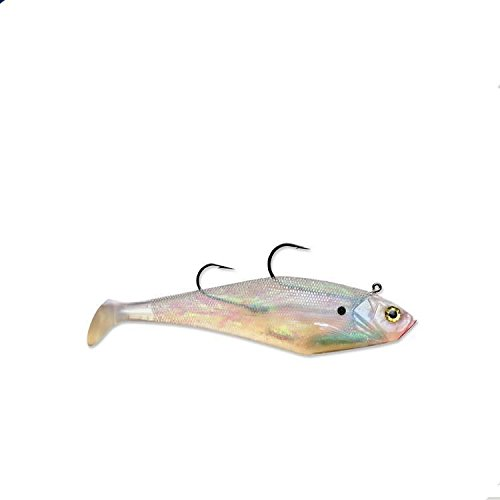 Storm Pearl Wildeye Swim Shad Fishing Lure Size 3 - VMC Needle Point Hooks
