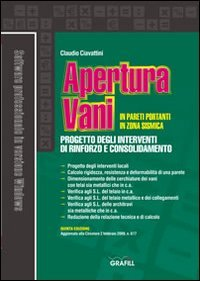 Apertura vani in pareti portanti in zona sismica. Con Contenuto digitale per download e accesso on line