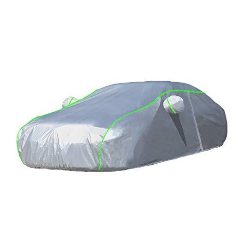 HWHCZ Autoplanen Kompatibel mit Autoabdeckung BMW 3er, Carbon Oxford Car Cover, Verdickung Verbesserter Stil, Geeignet für alle Arten von Wetter (Size : 330i M)