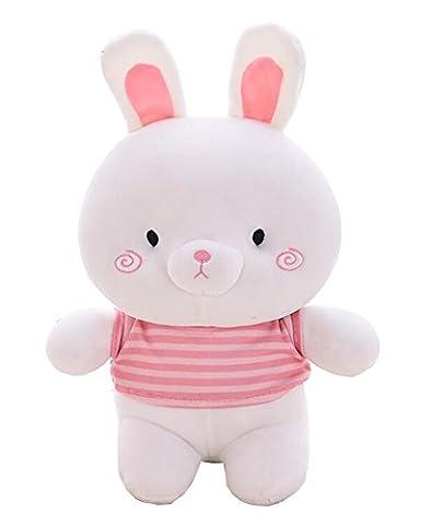 Nettes weißes Kaninchen-Entwurfs-angefülltes Plüsch-Spielzeug (Weihnachten Angefüllte Spielwaren)