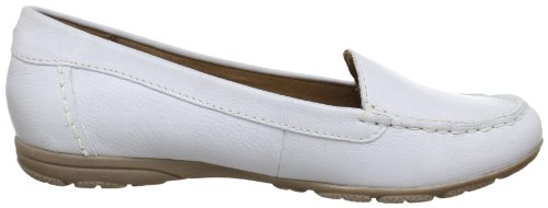Jana Fashion 8-8-24612-20, Mocassini donna Bianco (Weiß (OFFWHITE 109))