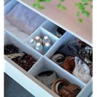 IKEA Set Of 6 Boxes Organiser, Keep Your Drawers Tidy - White