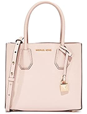 Michael Kors Kors Studio Mercer Soft Pink Leather Medium Satchel Handbag