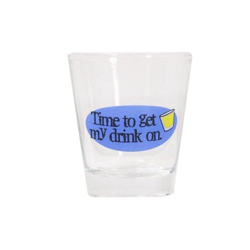 """Preisvergleich Produktbild TMD Holdings Time To Get My Drink auf """"Schnapsglas"""""""