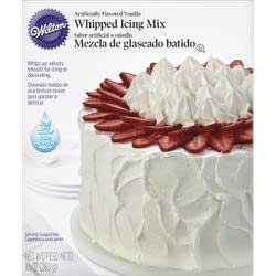 Bulk Buy: Wilton Whipped Vanilla Icing Mix 10 Ounces W1241 by Wilton