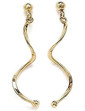 Isady - Ariana Gold - Damen Ohrringe - 18 Karat (750) Gelbgold platiert - Ohrhänger