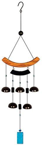 Sunset Vista Designs asiatischen Glocken Windspiel, 76,2cm (Dekor Outdoor-deck)