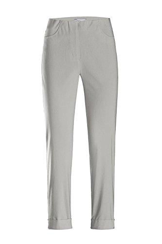Stehmann Igor 680Pantalon sportif pour Femme Longueur 6/8 Taille Haute Silber