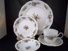 Traditions Fine Porcelelain China 5 Piece Place Set by Bavaria - Bavaria Fine China