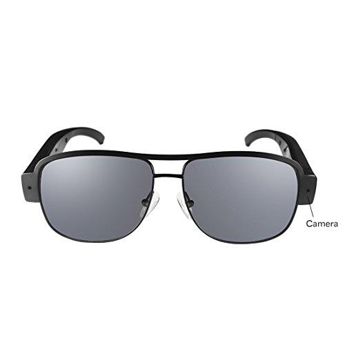 Oozimo spiare mini telecamera occhiali sole 1080p hd nascosto camera videocamera dv registratore dvr