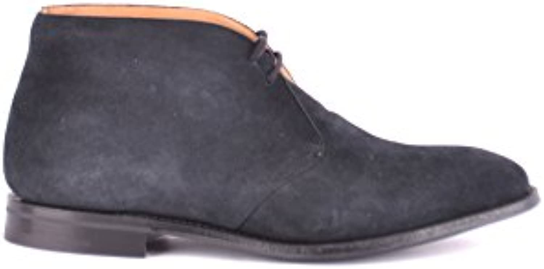 Church's Herren MCBI069113O Blau Wildleder Desert Boots