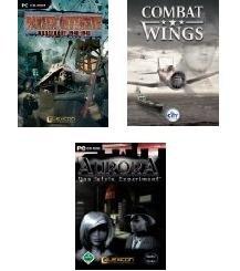 PC-Spiele Paket (3 Spiele) z. B. Combat Wings Wind Paket