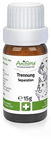 AniForte Trennung Globuli für Hunde, Katzen, Haustiere - Bachblüten zur Trauerbewältigung, Natürliches Mittel bei Trauer, Verlustangst und Einsamkeit