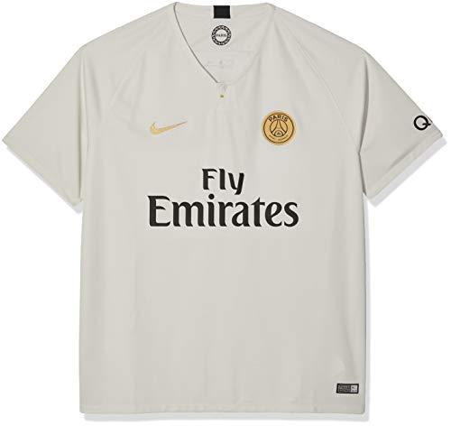 882a6c824 Nike Herren PSG M NK BRT STAD SS AW Jersey, Light Bone/Truly Gold