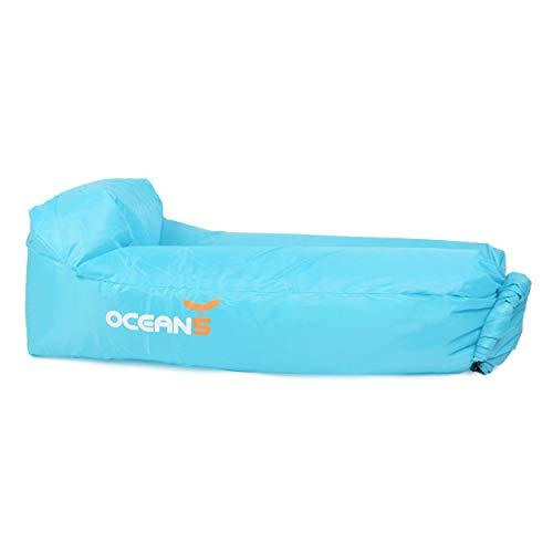 Ocean 5 Air Lounger, Divano ad Aria Gonfiabile e Impermeabile, Loungebag con Cuscino Integrato incl....