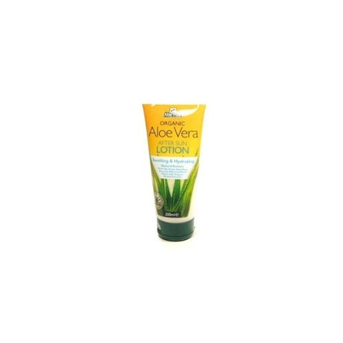 Aloe Pura Aloe Vera Organic After Sun Lotion 200ml - PACK OF 3