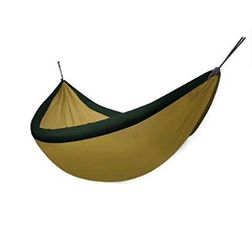 Anti-Überschlagkinder der Hängematte im Freien erwachsenes schlafendes Hauptstudentenschlafsaalbalkonpark-Schwingenhängematte (Farbe : Gold)