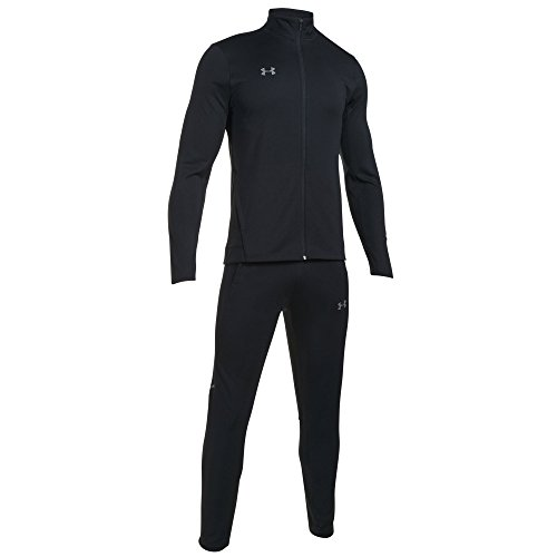Under Armour Challenger II Knit Warm-Up Chándales Hombre, Negro (001)