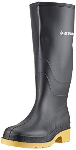Dunlop Protective Footwear Dunlop Dull, Botas de Agua Unisex Adulto, Negro Black, 41 EU