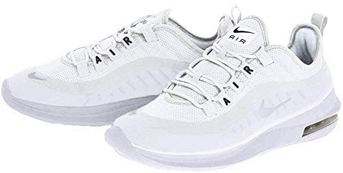 Nike Damen Air Max Axis Laufschuhe, Weiß (White/White/Black 100), 38 EU