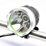 1200 Lumens CREE XM-LT60 LED Bicycle Headlight and Headlamp+Battery+Charger for Cycling Camping and Hiking