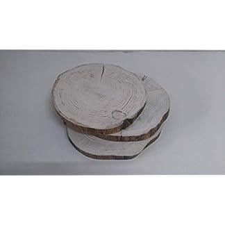 Rebajas oferta de discos, circulos, rodajas, tocones de madera ideales para decoración de mesas