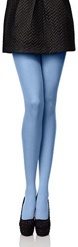 Baby Kostüm Ungewöhnliche - Antie Damen Mikrofaser Strumpfhose 80 DEN Blau, M (36-40)