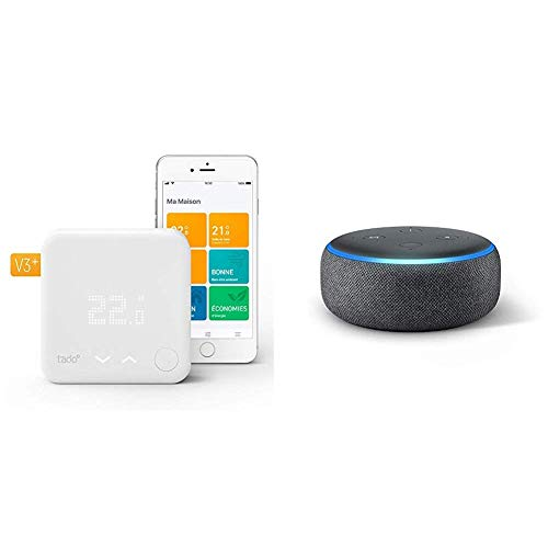 Tado Smart Thermostat with Echo Dot