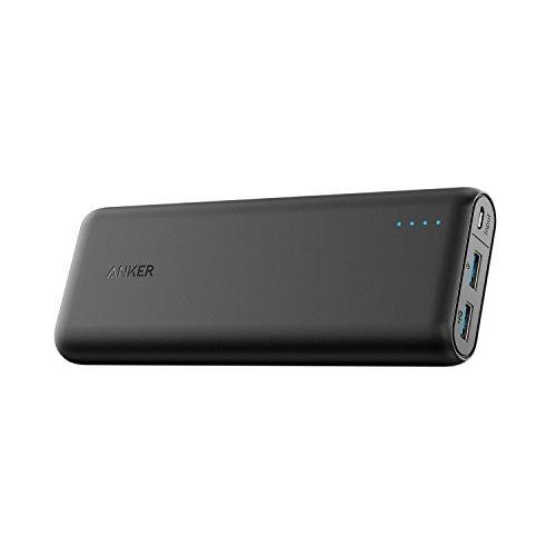 Anker PowerCore Speed 20000, Qualcomm Quick Charge 3.0 Zusatzakku, Abwärtskompatibel mit Quick Charge 1 & 2, mit PowerIQ, 20000 mAh Powerbank für Samsung, iPhone, iPad und viele mehr Industrie-handy-fall