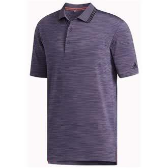 adidas Golf Herren Ultimate365 Strukturierter Polo-Hemd - Trace Violett - M - Adidas Golf Shirt