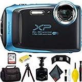 FUJIFILM FinePix XP130 Digital Camera (Blue) Master Bundle
