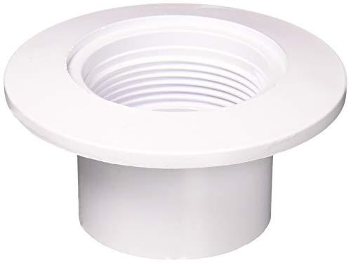 Pentair 542423 Innenwandarmatur für Schedule 40 PVC Gunite Beton Pool Rohr 5,1 cm, Weiß (Pvc Schedule 40 Armaturen)