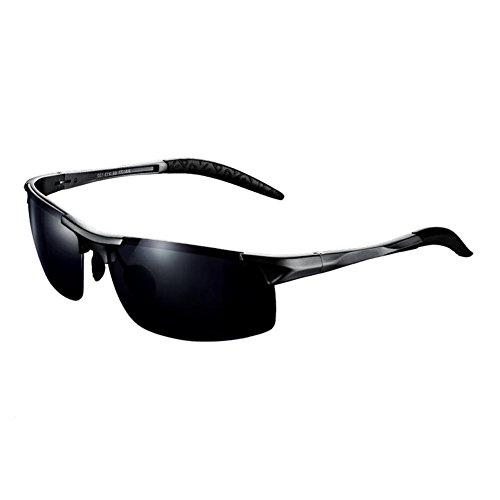 BYCSD Polarisierte Herren-Sonnenbrille - Tag/Nacht Sportbrille - Ideal für sicheres Fahren (Farbe : Day Model)