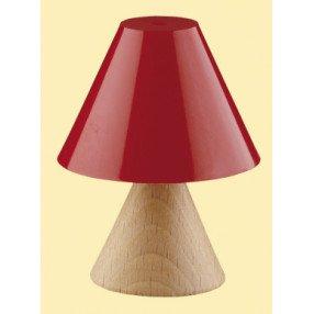 Kahlert Licht 10452 - Minipuppenzubehör - Tischlampe, Holzfuß