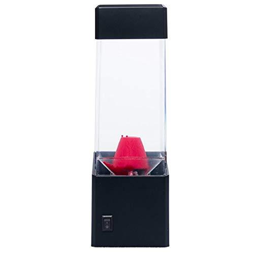 Amandua Vulkan Wasser Aquarium-Behälter-LED-Lampe Relax Nacht Stimmungs-Licht für Wohnkultur Fotografie
