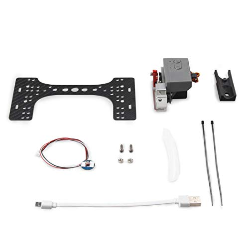 XuBa Parabol-Servoschalter, Fernbedienung für DJI Phantom 3A/3P/3Se Drohne Zubehör Geburtstag Halloween für Kinder weiß