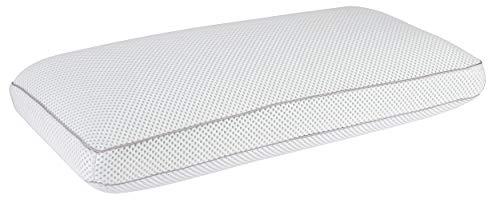 Pikolin Home - Almohada viscoelástica, termorreguladora Desenfundable, 35x70cm, color blanco