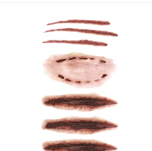 Tattoos -Halloween Wunde / Schorf / Blut Flash Tattoo Aufkleber Henna Temporäre Körperkunst Wasserdicht Temporäre Tätowierung Aufkleber PCS 3 ()