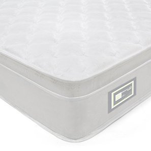 Urban Ladder DreamLite Comfort 9-inch King Size Spring Mattress (White, 78x72x9)