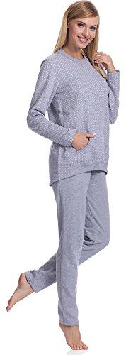 Italian Fashion IF Pyjama Femme Awi 0223 Melange