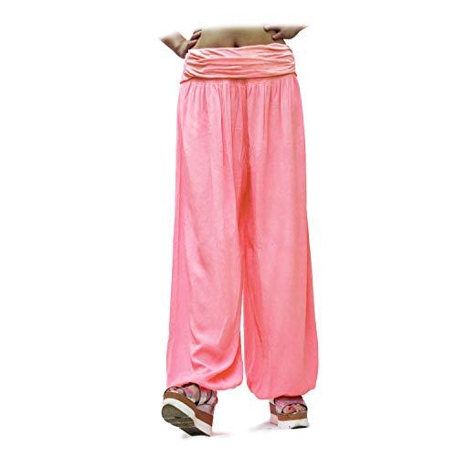 Glamexx24 pantaloni da donna comodi leggeri larghi e freschi per casa tempo libero e sport
